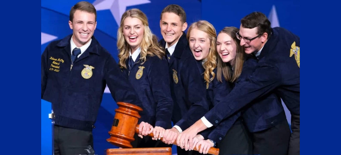 2019-20 National FFA Officer Team