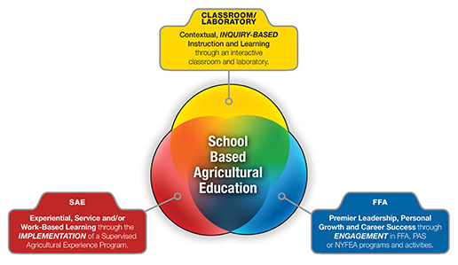 Three Component Model of Ag Ed